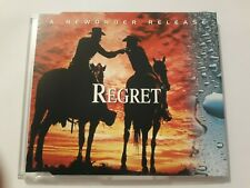 """NEW ORDER """"REGRET"""" CD DJ MIX MADE IN UK 1993! techno joy division electronic dub"""