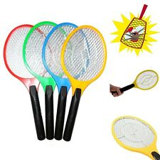ELECTRIC FLY INSECT SWAT SWATTER BUG MOSQUITO WASP ZAPPER ELECTRONIC #AU