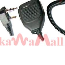 2X SPEAKER PTT MIC KENWOOD TK RADIO KMC-21 KSPK
