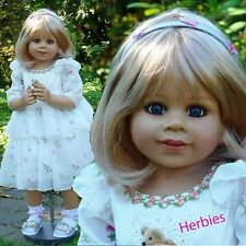 "Masterpiece Dolls Happy Birthday Kate Satin Dress, Shoes, & Socks for 34"" Doll"
