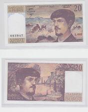 GERTBROLEN  20 FRANCS ( DEBUSSY ) de 1980  L.002 Billet N°  0035663947