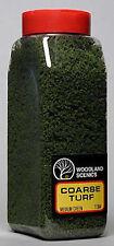 NEW Woodland Scenics Turf Coarse Medium Green 32 oz T1364