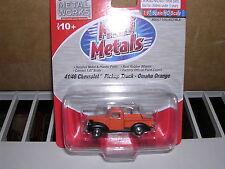 "C.M.W. Mini Metals #30270  1941/46 Chevrolet Pick-up Truck ""Orange/Black"""