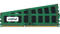 Crucial 4GB Kit 2x 2GB DDR3 1600MHz PC3-12800 Non ECC Desktop Memory RAM 1600