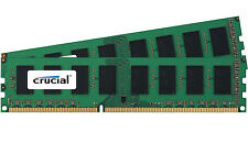 Crucial 8GB Kit 2x 4GB DDR3 1600 MHz PC3-12800 Desktop Memory RAM uDimm DDR3L