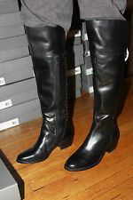 VINCE CAMUTO VO-BRANI BLACK  LEATHER BOOTS SIZE 5.5M