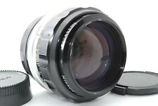 Nikon NIKKOR-H Auto 85mm f/1.8 Non-Ai MF Lens w/Filter Caps Case From Japan *H44