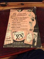 Fantastic Vintage 1930S Modelling Course Poster - Bonomo Culture Institute Ny
