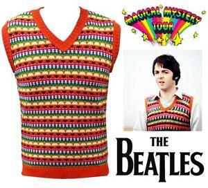 Paul Mccartney Tank Top TankTop Magical Mystery Tour Sweater Vest Jumper Beatles