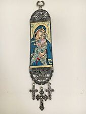 Woven Religious tapestry wall hanging orthodox catholic icon Style 7