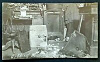Robbery Failure Unopened Safe, Ohio 1913 Real Photo Postcard RPPC 4962