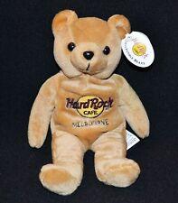 Hard Rock Cafe Melbourne Collectable Bear Isaac Beara