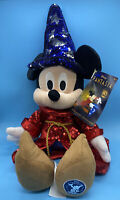 Disney Sorcerer Mickey Mouse Sequin Plush – Fantasia 80th Anniversary LIMITED