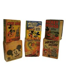 Mickey Mouse The Big Little Book Lot 1930's - 40's