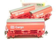 Minitrix N DB Cargo 3teil. Set 2achs. Schüttgutwagen rot 15098 NEU OVP