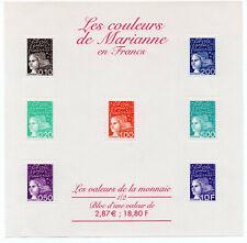 Timbres France Neuf** Bloc feuillet N° 41 Les couleurs de Marianne - 2001