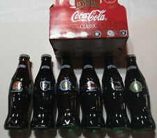 COCA COLA COKE Best of the BAY 6 pack BOTTLE FULL A's Warriors Sharks 49ers