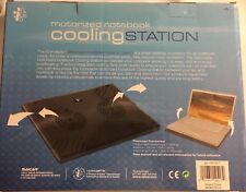 Notebook I-CONCEPTS Laptop Cooling Pad Station Computer Motorized Fans USB Cable