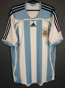 MENS ADIDAS ARGENTINA 2005/2006 HOME SOCCER FOOTBALL SHIRT JERSEY MAILLOT SIZE M