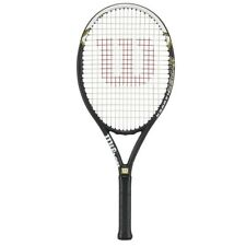 Wilson Hyper Hammer 5.3 Strung Tennis Racket, Black/White Size: 4 3/8