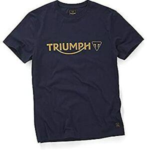 Triumph Motorcycle Men's Cartmel Black Iris T-Shirt 2XL