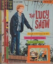 😊THE I LOVE LUCY SHOW # 1 # 2 # 3 # 4 # 5  SET FN+/VF/NM GOLD KEY  CENTS 1963😊