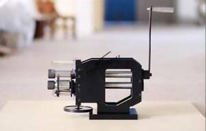 Manual Embossing Machine Belt Leather Printing Machine Stamping Creasing Machine