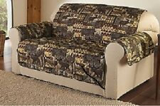 Cozelle Lodge Microfiber Loveseat Furniture Protector Slipcover 88 x 75.1/5