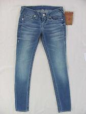 True Religion Skinny Heritage Jeans Low Rise-Primrose Terrace -Size 25- NWT $242