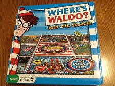 Where's Waldo Board Game Join The Search Toy Island 2012 Complete Super Clean EC