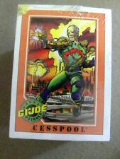 Impel 1991  Complete G.I. JOE Series 1 200 trading card base set NM + qq