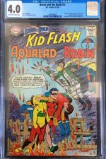Brave and The Bold #54 CGC 4.0 Origin & 1st App Teen Titans OW/White Pages