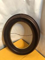 Vintage Antique Victorian Oval Shadowbox Picture Frame for Painting