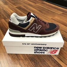 New Balanace 576 Made In England Men Size 12 Bordeaux Burgundy