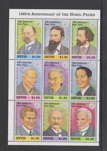 Nevis - 1995, Nobel Trust Fonds Feuille - MNH - Sg 935/43