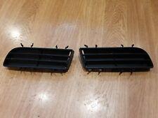SAAB 9-5 95 Lower Black Air Intake Grill pair 4564142/4564134