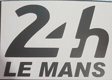 Le mans 24hr 2018 - Black Matt vinyl sticker decals race track