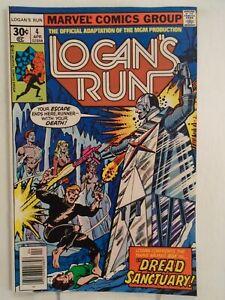 Marvel LOGAN'S RUN #4 (1977) Movie Adaptation, George Perez, Klaus Janson