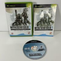 Metal Gear Solid 2 Substance Complete With Manual Xbox 2003 Free Uk Postage