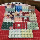 Huge PartyLite Tealight Candle Lot.  168 Candles. Many Scents / Colors. Unlit.