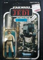 KENNER VINTAGE STAR WARS 1983 ROTJ AT-ST DRIVER MOC 77 BACK OFFERLESS TAIWAN MIB