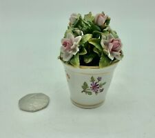 Antique Sitzendorf Porcelain Floral Display circa 1887- 1900