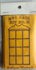 Vintage Ballhagen Dollhouse Miniature Mug Rack Kit, New!
