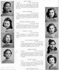 1940 Philadelphia Girls High School Yearbook~Photos~History~Candids~WWII~++++