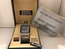 Seiko G757-4010 James Bond Octopussy Alarm Chronograph Quartz LCD  Watch