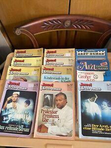 12 Older German Romance magazine Book Lot Arzt  Dr