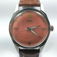 Vintage Hmt Pilot Mechanical Hand Winding Movement Analog Watch AC236