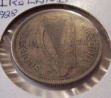 IRELAND 1/2  ONE HALF CROWN SILVER COIN
