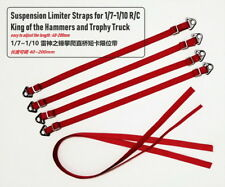 for 1/10 RC Suspension Limiter Straps Bands Red Accessory Crawler Car TRX-4 D90