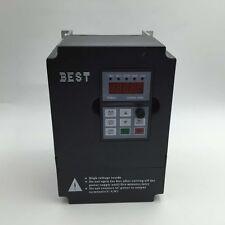 3 phase 380V 1.5KW 2HP VFD Driver Inverter 1000Hz 4.2A CNC Spindle Controller